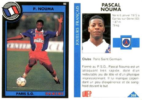 N° 268 - Pascal NOUMA
