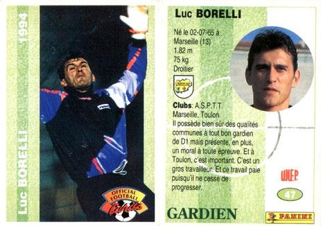 N° 047 - Luc BORELLI