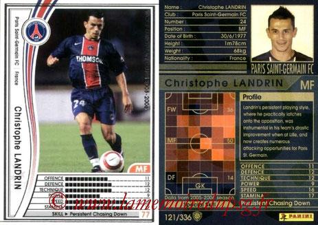 N° 121 - Christophe LANDRIN