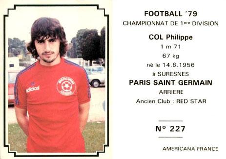 N° 227 - Philippe COL