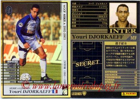 N° LE06 - Youri DJORKAEFF (1995-96, PSG > 1996-99, Inter Milan, ITA) (Legend)