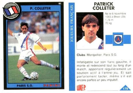 N° 179 - Patrick COLLETER
