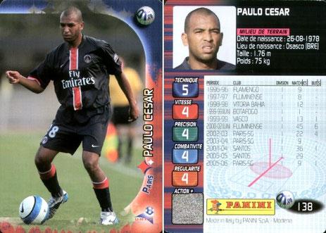 N° 138 - Paulo CESAR