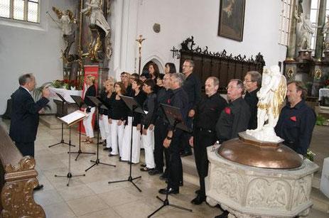 beim Tag des Chorliedes - in Volkach  2013