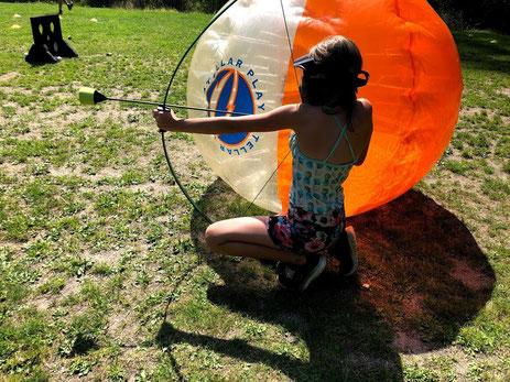 Battle Archery at Loon Lake Retreat Centre