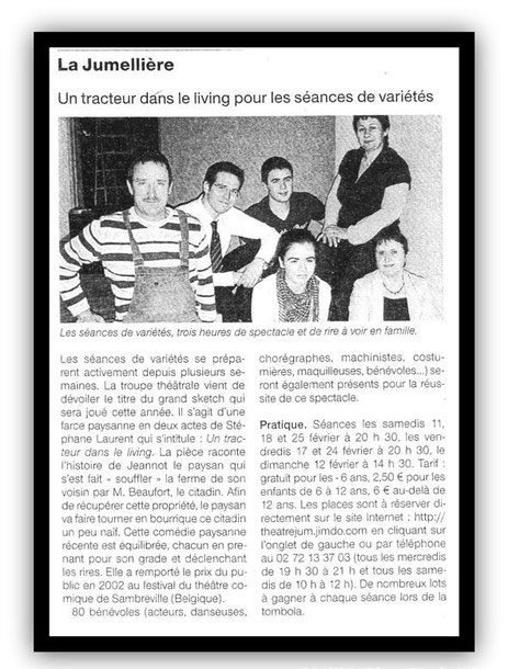 Ouest France 30/01/2012