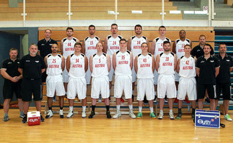 Physiotherapie Graz Basketballnationalteam Österreich