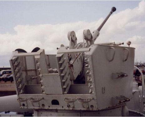 40 mm Bofors L 70 MEL - Foto: Archiv Förderverein