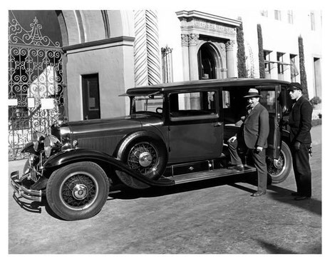 1930 : Cadillac Fleetwood V8 Photo. Paramount Producer Ernst Lubitsch