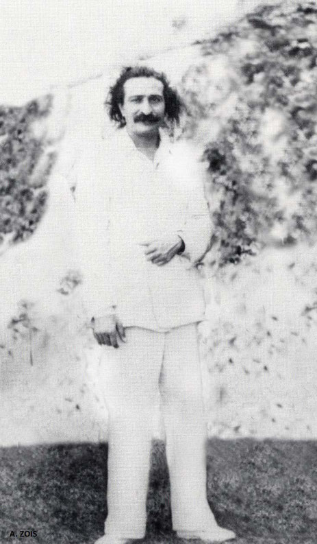 June 1932 - Meher Baba in China.  Image has been edited and cropped by Anthony Zois.