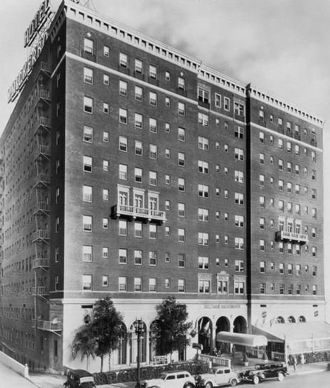 Knickerbocker Hotel, Los Angeles, CA