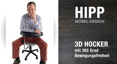 3D Hocker / 3D Stuhl
