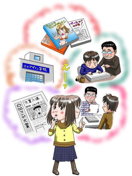 マンガスクール・はまのマンガ倶楽部/どうすれば漫画家になれる?その6つの方法