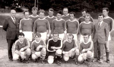 Mannschaftsfoto aus dem Jahre 1972