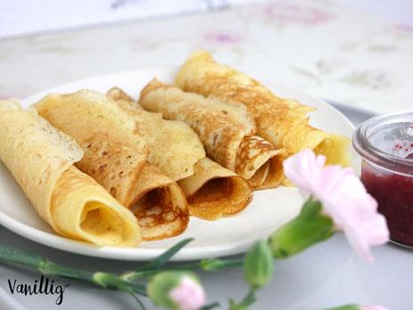 Rezept für Pfannkuchen mit Hefe