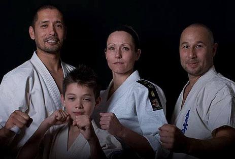Karateka's Hormat..!!