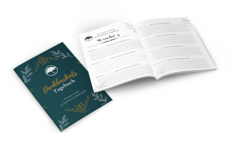 Dankbarkeitstagebuch Gratitude Journal