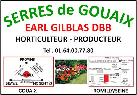 Serres De Gouaix Gilblas Dbb Horticulteurromilly Serres