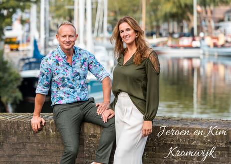 Jeroen en Kim Kromwijk tijdens het Relatieweekend