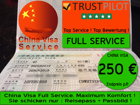 China Visa Full Service