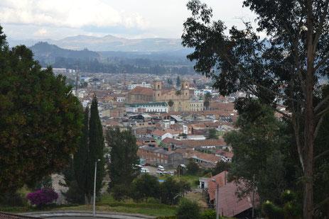 Vista de Zipaquirá