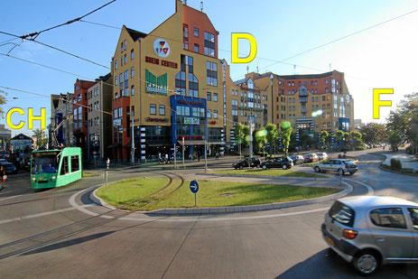 Einkaufszentrum Rheincenter mit Marktkauf in Weil am Rhein