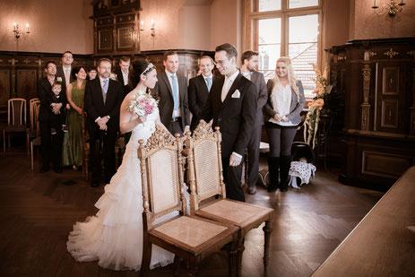 Hochzeit im Rathaus Oschatz. (www.fotowelt.oschatz.de)