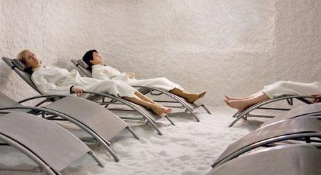 Галотерапия сухим аэрозолем
