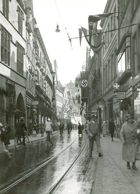 Salzstraße um 1939 - Foto HS