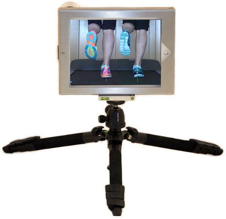 iPad, mobile Bewegungsanalysen