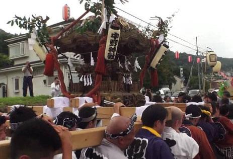 津久井中野神社大祭:投稿@鈴木大翔さん