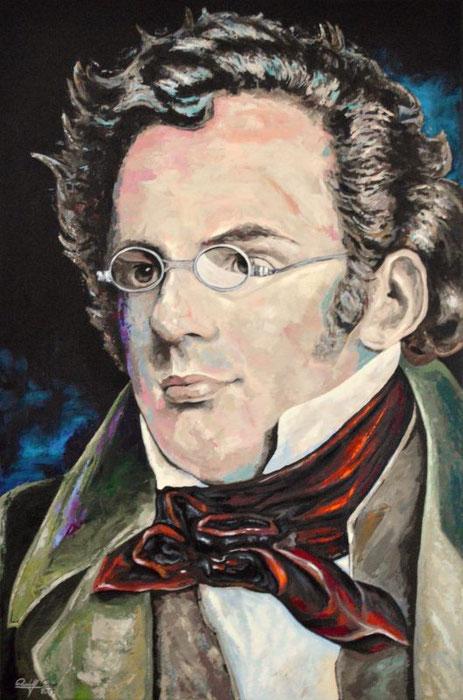 Moderne zeitgenössische Interpretation in Acryl gemalt und gespachtelt.