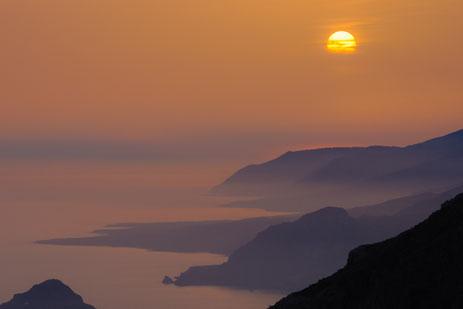 typisch griechische Küstenlandschaft