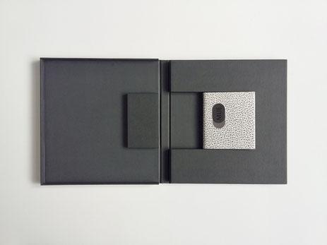 Anne Goy ,reliure d'art, livre minuscule, PAB, design du livre, book design, Pierre André Benoit,  bookbinding - Anne Goy