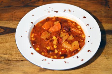 Kartoffel Gemüse Chili