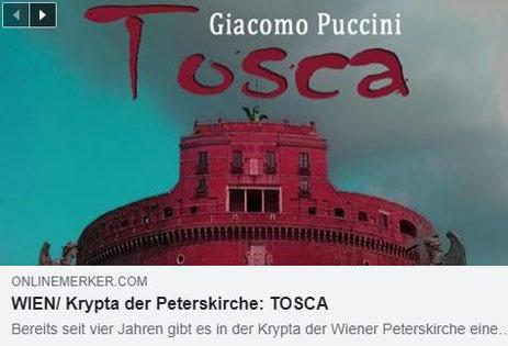 Oper in der Krypta – TOSCA, ONLINE-MERKER Kritik, 27.10.2018