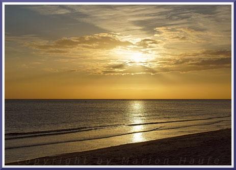 Sonnenaufgang bei Prerow