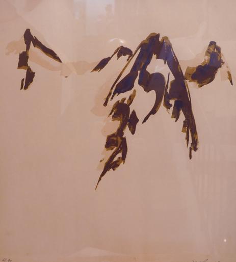 Exposition de Noël, exposition de tableaux, tableaux vaudois, Léo Andenmatten,  Gustave BUCHET, Walter Mafli, Abraham Hermanjat,Charles Chinet, François Birbaum