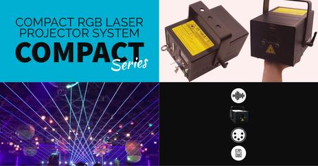 小型 レーザー フルカラー 演出照明 LASER レーザー演出 レンタル 販売 安い 価格