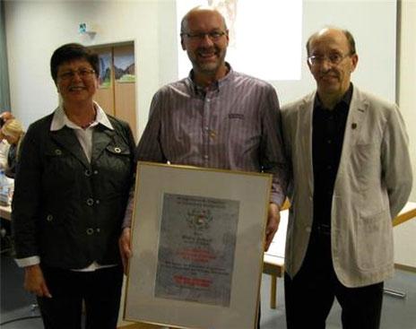Goldener Ehrenkranz für Georg Schmitt - 2014