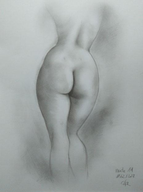 classical academic nude