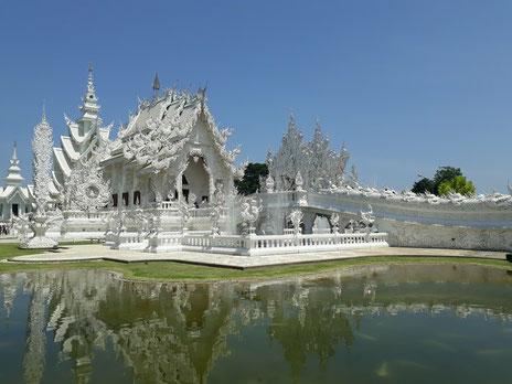 Le temple blanc à Chiang Rai