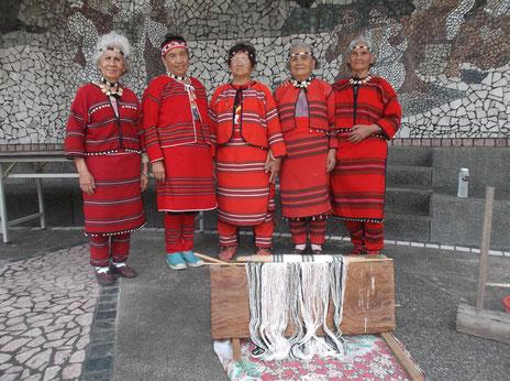 セデック族の女性たち(埔里・清流)