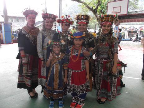 ルカイ族の女性たち(屏東・霧台)