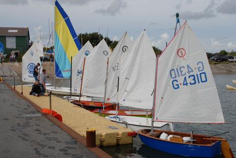 Ein kleiner Teil der Jugend-Flotte