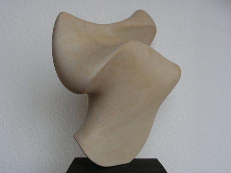 désapprendre l'appris - calcaire de Baumberger 2013 35cm