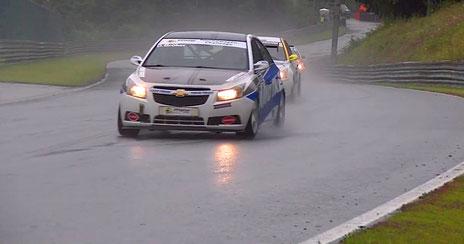 Regenschlacht Österreich Chevrolet Cruze Eurocup 2020 Salzburgring Motorsportfestival Toyo Dennis Bröker
