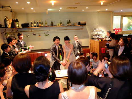 2014.3.22 Yuri and Takuma's Wedding After Party