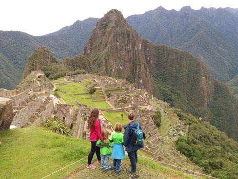 Großartige Ziele wie Macchu Picchu hatten sie gemeinsam besucht, bevor die Pandemie sie stoppte...