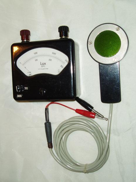 Metrawatt  Objektiver Beleuchtungsmesser Typ. Tavolux 2